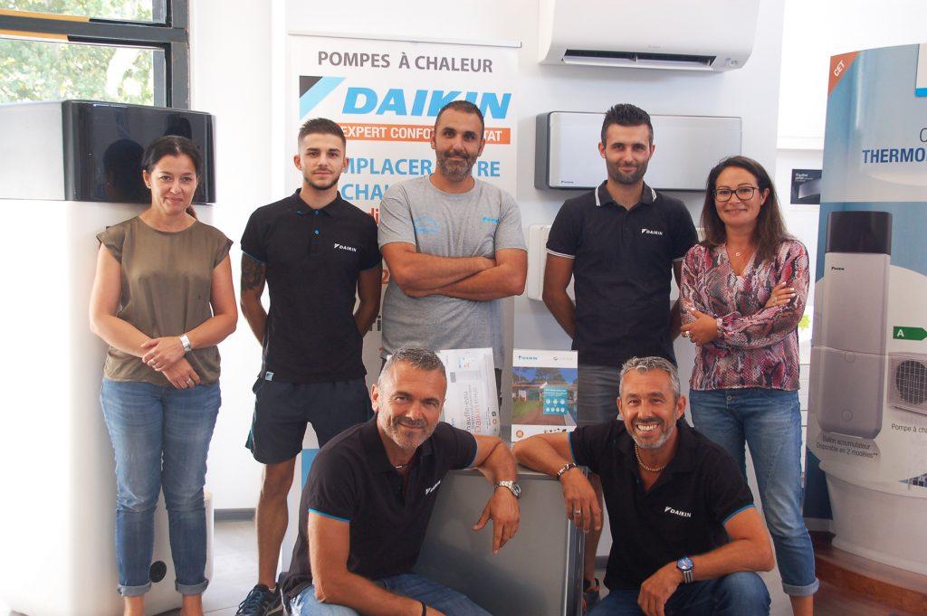 Equipe d'experts en chauffage, climatisation, énergie solaire RCH Méditerranée