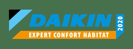 Logo Daikin Expert Confort Habitat 2020