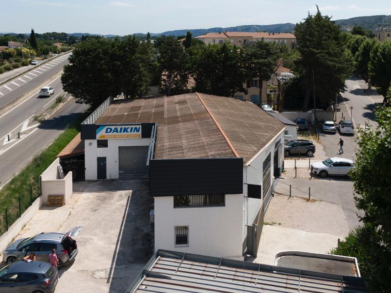 RCH Méditerranée vue de drone