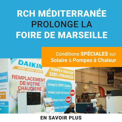 RCH Méditerranée prolonge la foire de Marseille